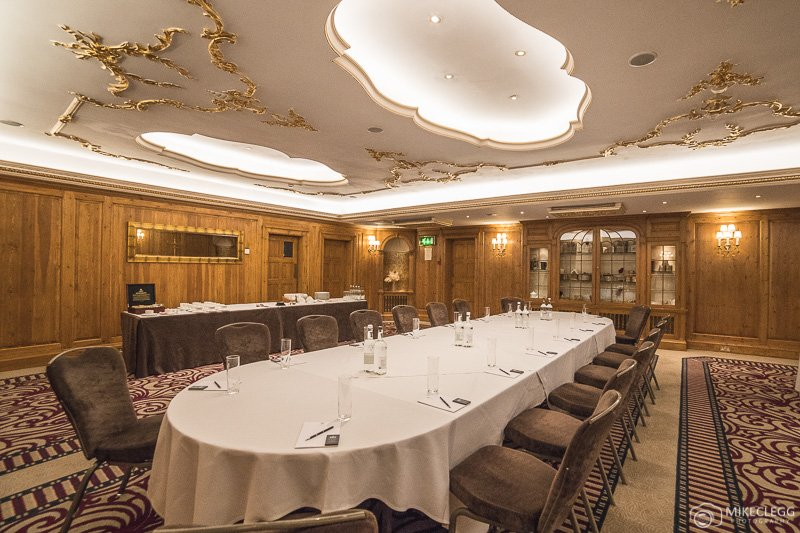 Pine Room meeting room at The Westbury Mayfair