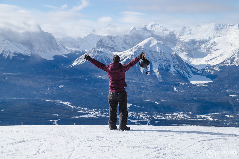 Spectacular views at Lake Louise Ski Resort