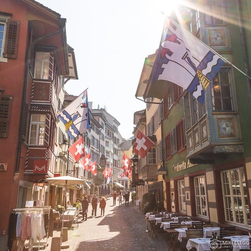 Augustinergasse in Zurich