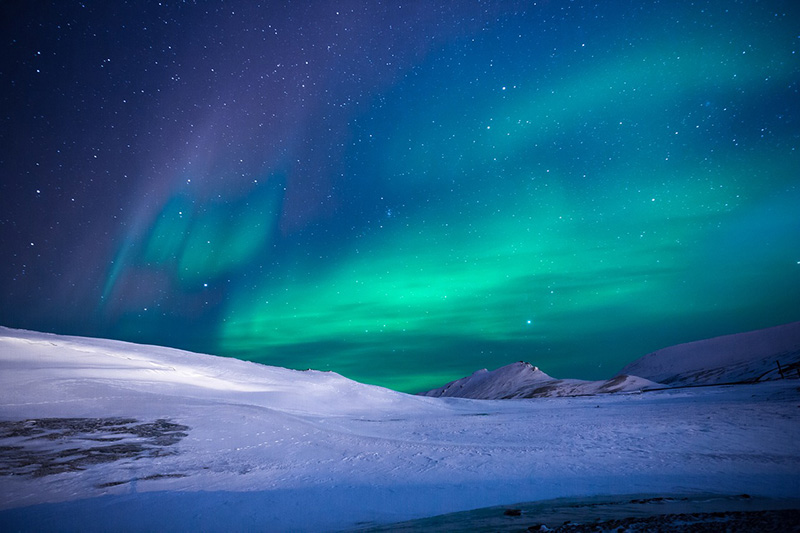 Aurora lights at night - CC0 (Pixabay)