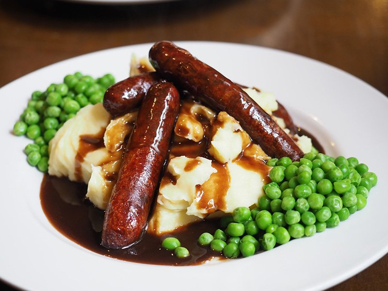 Bangers and Mash - Via Pixabay