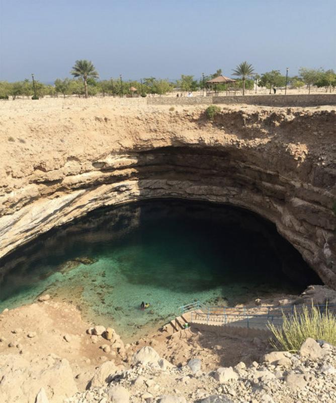 Bimmah Sinkhole Oman - ©Image courtesy of gadventures