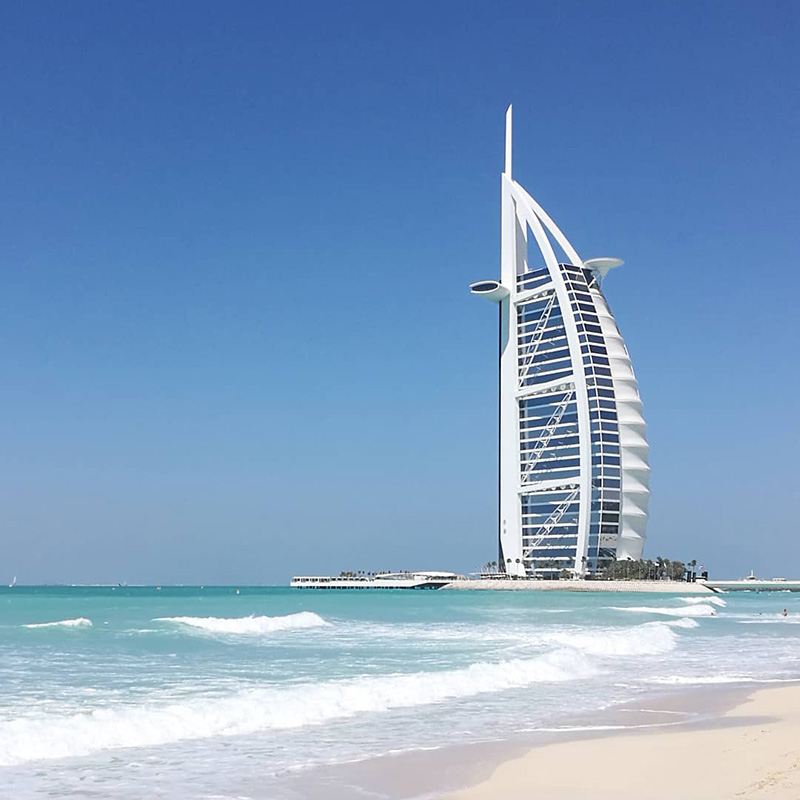 Burj Al Arab, Dubai - Image by @tireless_traveler