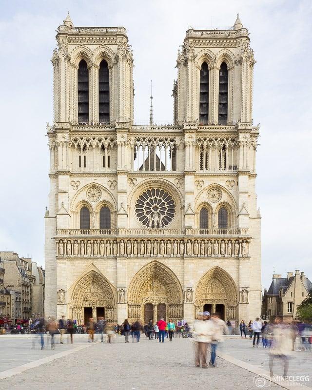 Cathédrale Notre-Dame de Paris during the day