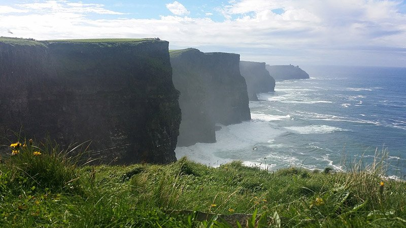 Cliffs of Moher - image CC0 (Pixabay)