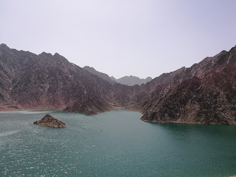 Dubai Hatta Dam - Image by @tireless_traveler