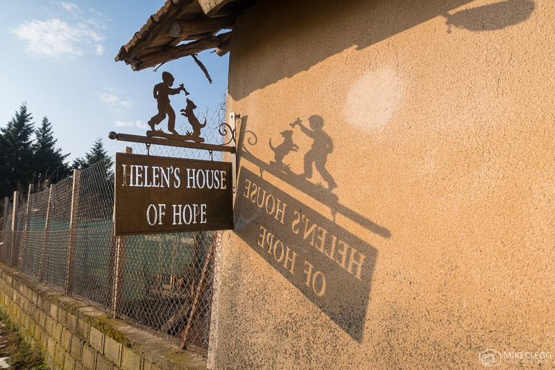 Helens House of Hope Sign