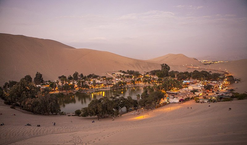 Huacachina Village, Peru