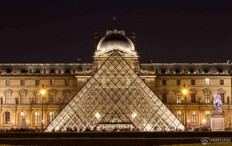 Louvre Museum in Paris - Exterior