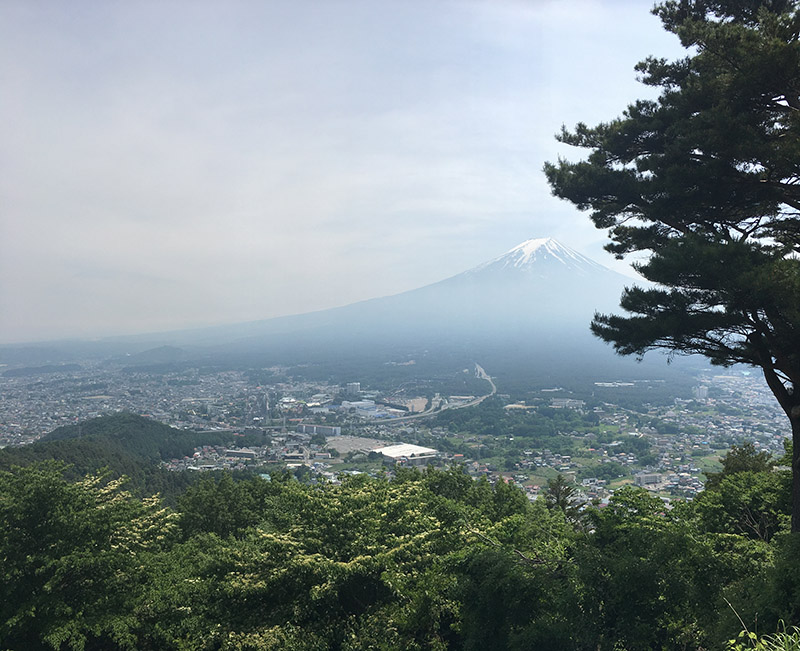 Mount Fuji and landscape in Japan