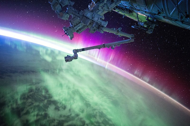 Northern Lights from Space - Photo by NASA - CC0 (Unsplash)