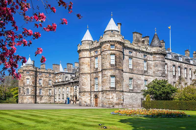 Palace Of Holyroodhouse - exterior