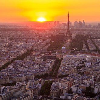 Paris from Montparnasse Tower - Photo by Henrique Ferreira - CC0 (Unsplash)