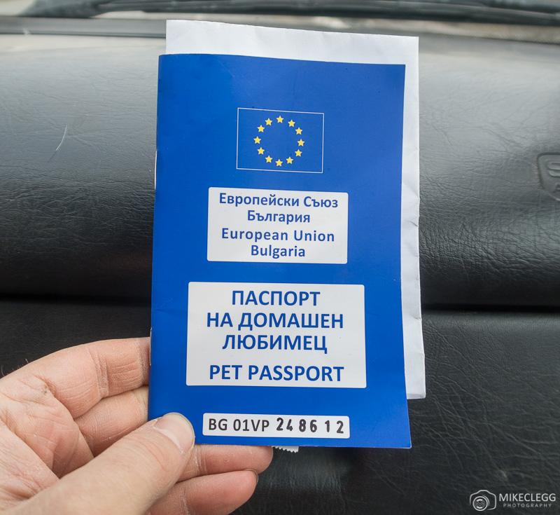 Pet Passport in Bulgaria