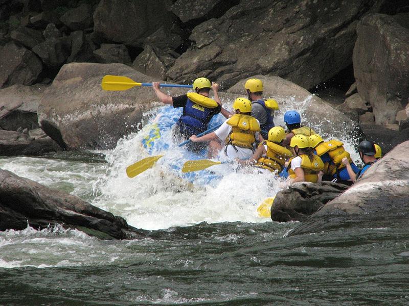 Rafting - image via Pixabay