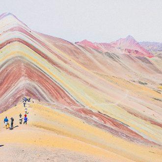Rainbow Mountain Peru - Photo by Johnson Wang on CC0 (Unsplash)