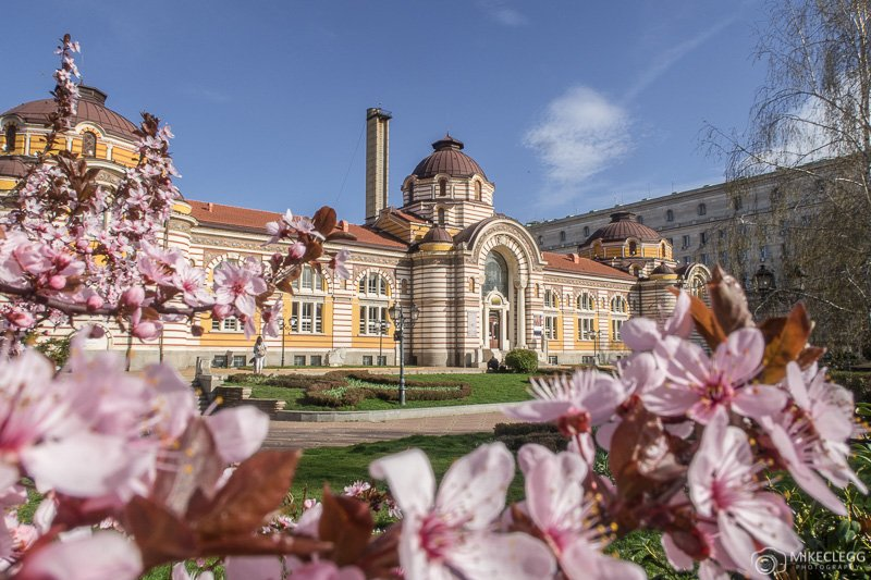 Regional History Museum Of Sofia‎ during the spring