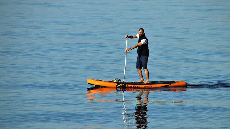 Stand-up Paddling - image via Pixabay