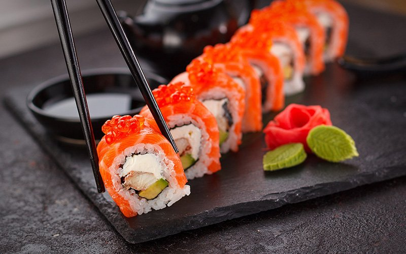 Sushi in Japan - Via Pixabay