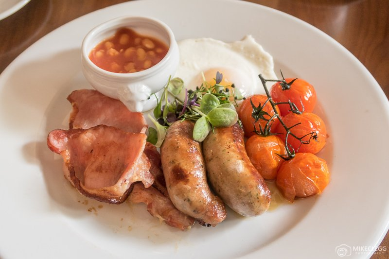 Typical English Breakfast Fry-up