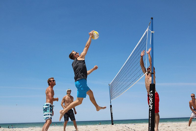 Beach volleyball - CC0 (Pixabay)