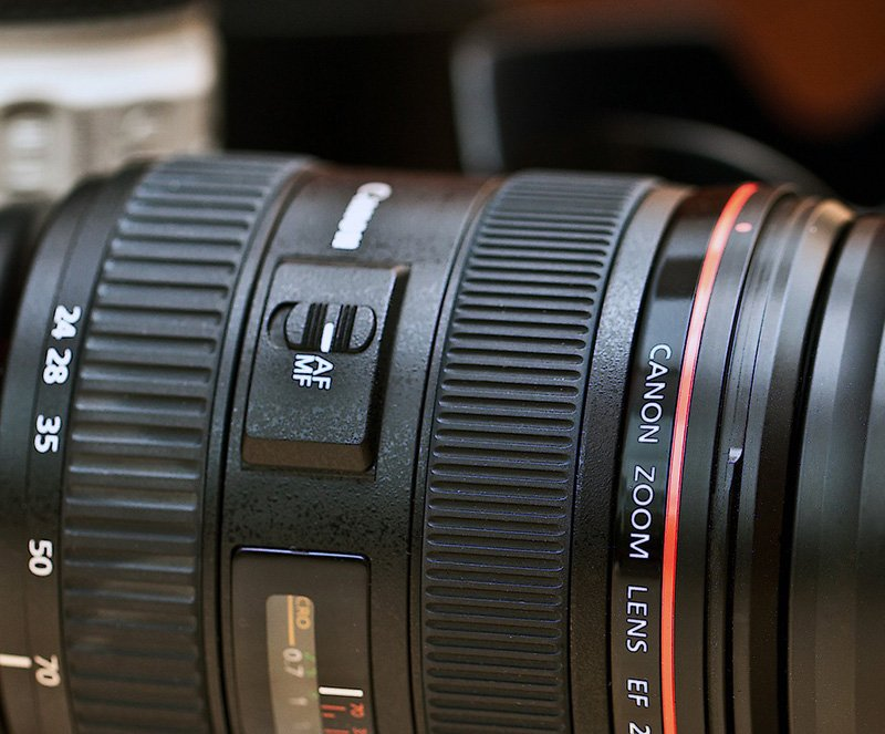 Camera Lens - Focus Mode - Automatic Manual - CC0 (Pixabay)