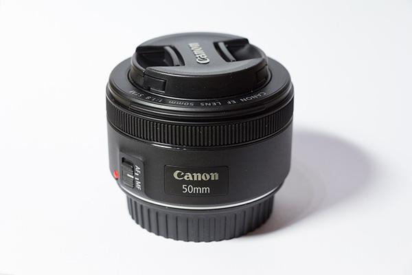 Canon 50mm prime lens - CC0 (Pixabay)