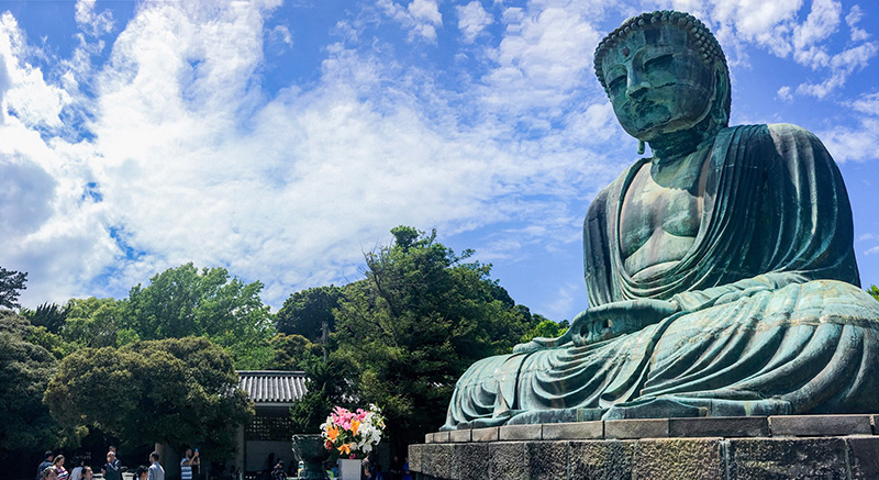 Great Buddha of Kamakura - Image by Nicholas Hastie
