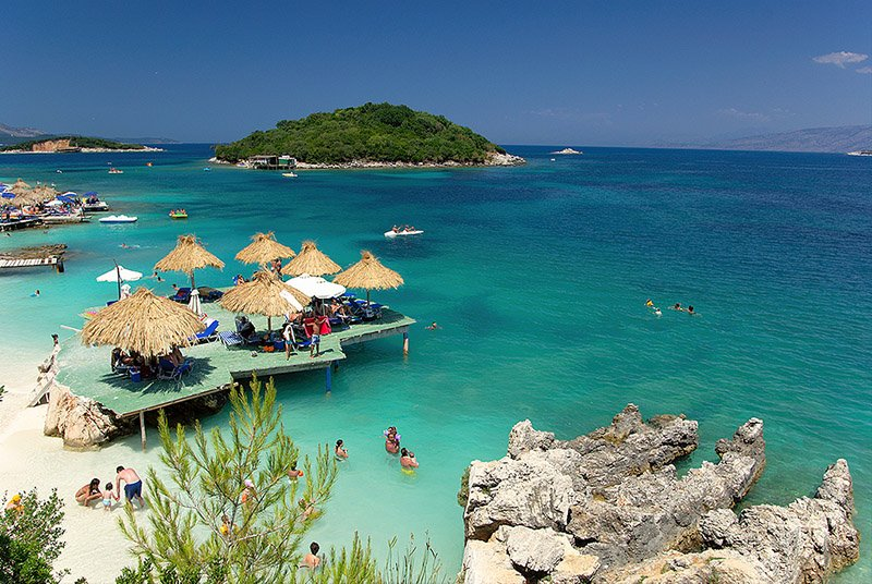 Ksamil - Albania by Artur Malinowski on Flickr - CC BY 2.0