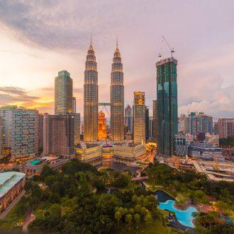 Kuala Lumpur at Sunset