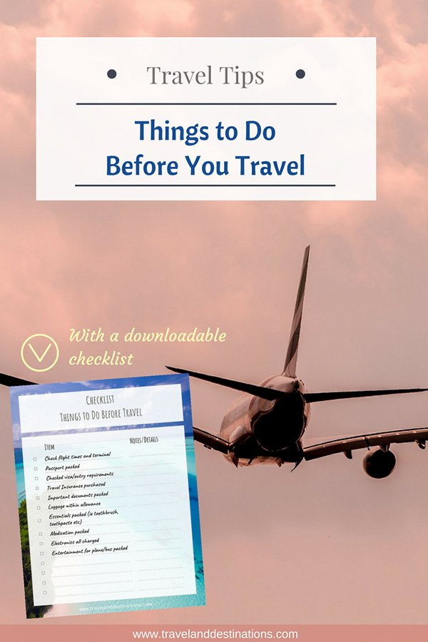 important things to do before you travel with a downloadable