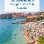 Top Destinations in Europe to Visit this Summer - Pin