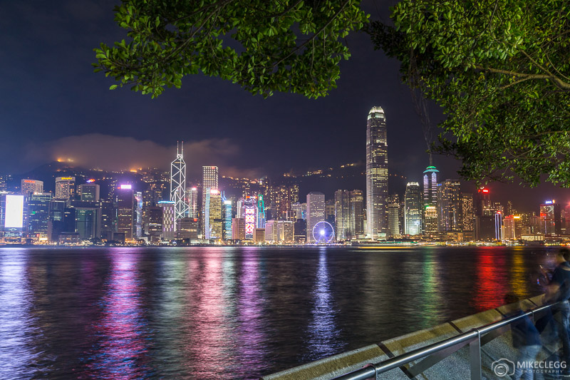 View of Hong Kong Island from Kowloon waterfront