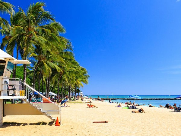 Beaches in Hawaii - CC0 (Pixabay)