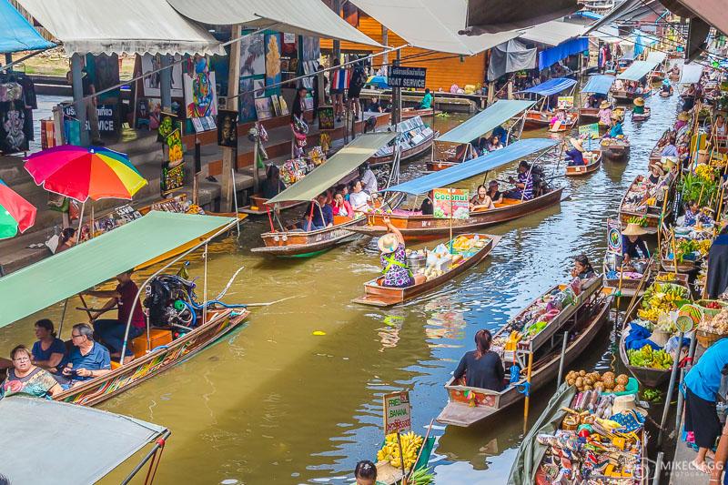 floating market damnoen saduak how to get there