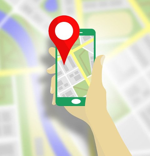 Google Maps and Navigation graffic - CC0 (Pixabay)