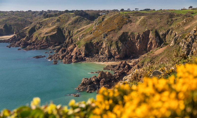 Guernsey Coast and landscape