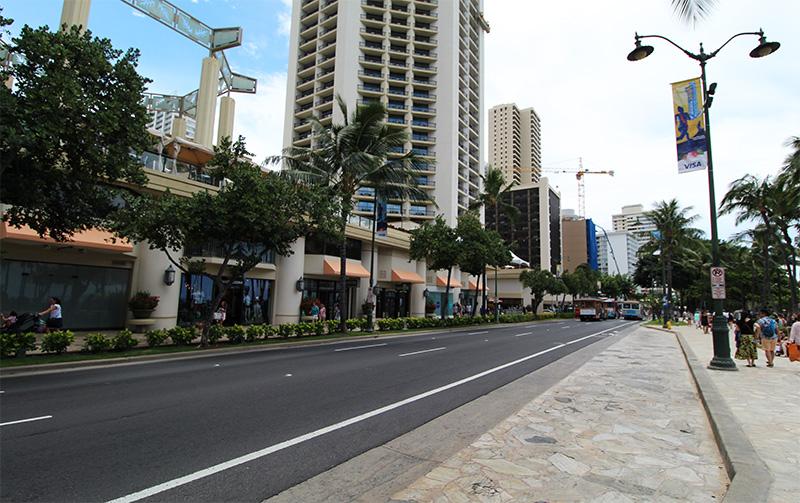 Kalakaua Avenue, Hawaii