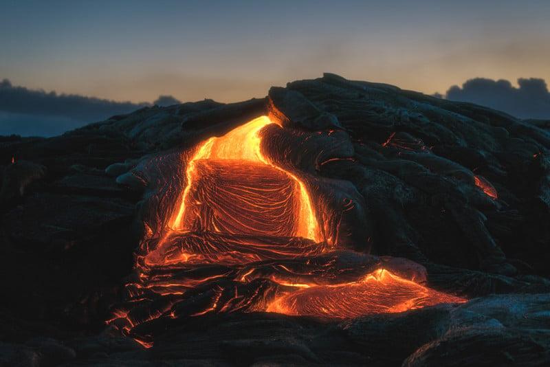 Kilauea Volcano, Hawaii - Photo by Julien Millet on Unsplash (CC0)