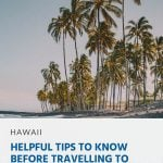 Pinterest - Helpful Tips to Know Before Travelling to Hawaii