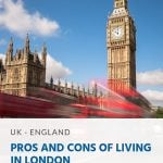 Pinterest - Pros and Cons of Living in London