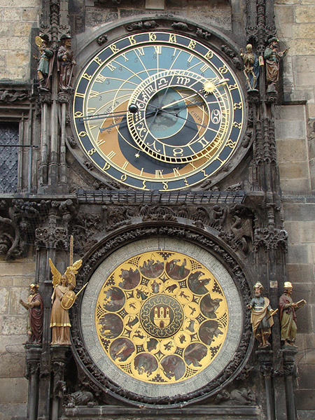 Prague Astronomical Clock - Via Pixabay (CC0)