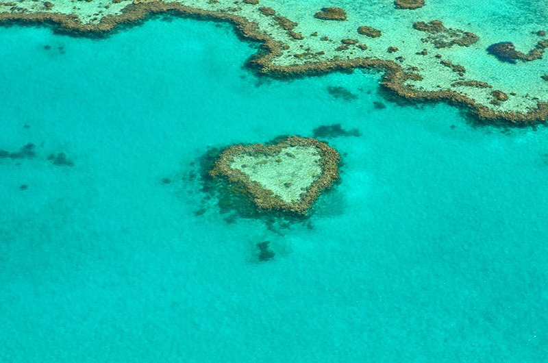 Great Barrier Reef, High view - Australia (CC0)