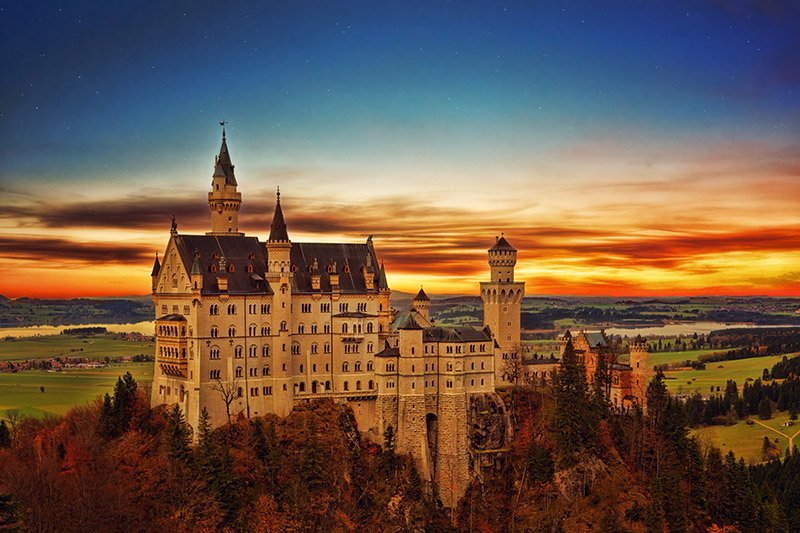 Neuschwanstein Castle - Germany - johannes-plenio-262802-unsplash