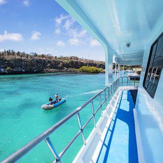 Ecuador Galapagos Yolita Boat Side Deck - Via G Adventures