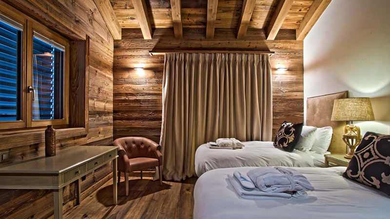Private rooms in Ski Chalets - Chalet Altair in Nendaz, Switzerland - ©Skiworld