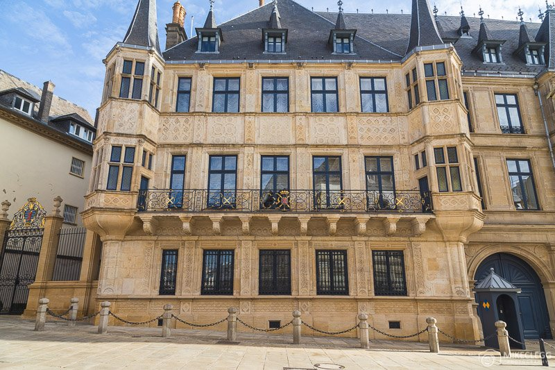 Exterior of Grand Ducal Palace