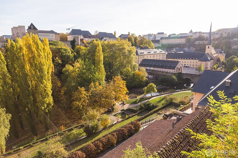 Luxembourg in the Autumn