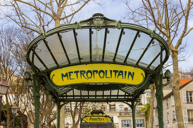Metro in Paris