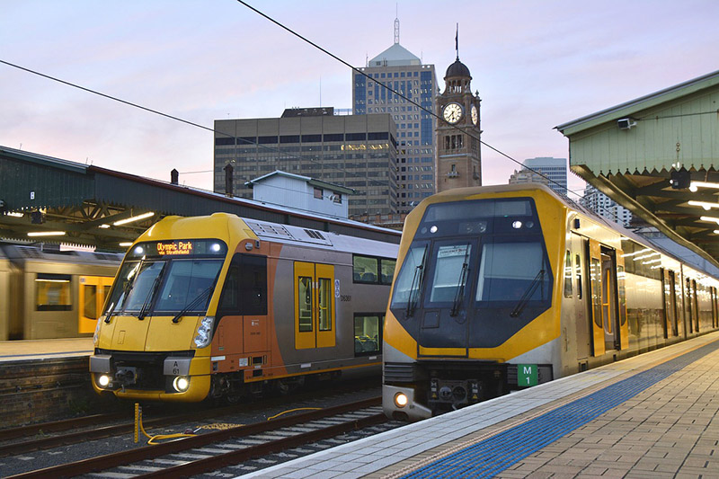 Trains in Sydney - CC0 - Pixabay